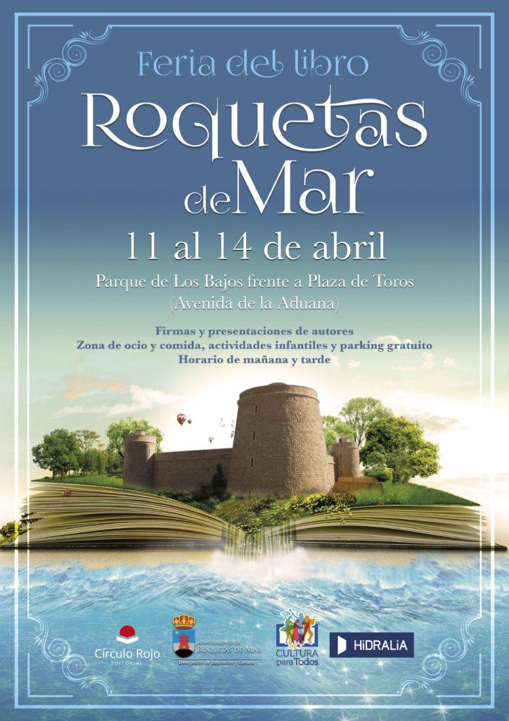 cartel feria del libro Roquetasn